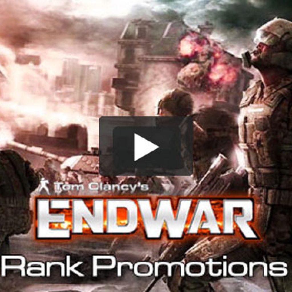 Tom Clancy's Endwar Vignette - Rank Promotions