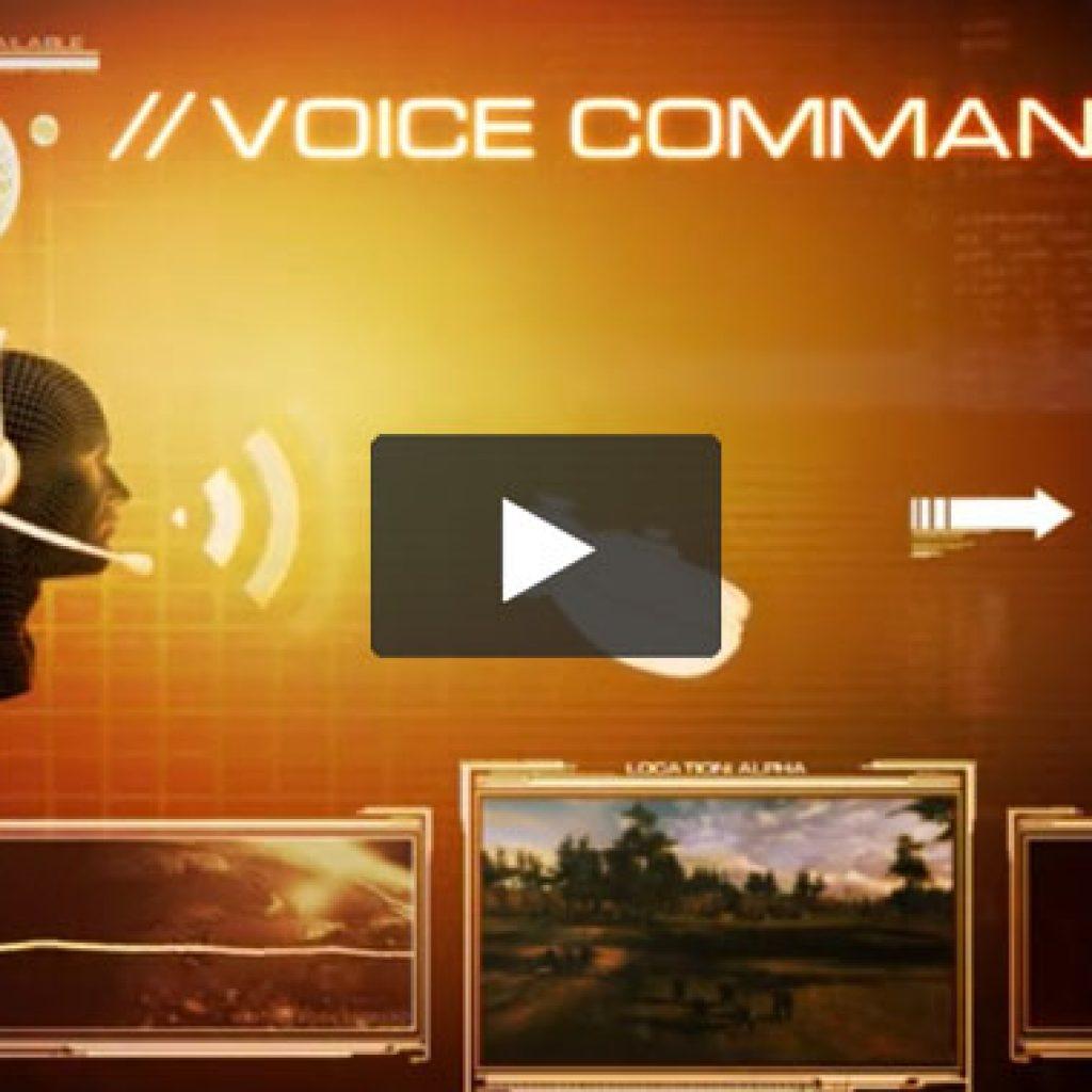 Tom Clancy's EndWar Vignette - Voice Command