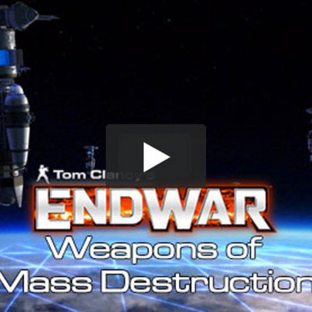 Tom Clancy's Endwar Vignette - Weapons of Mass Destruction