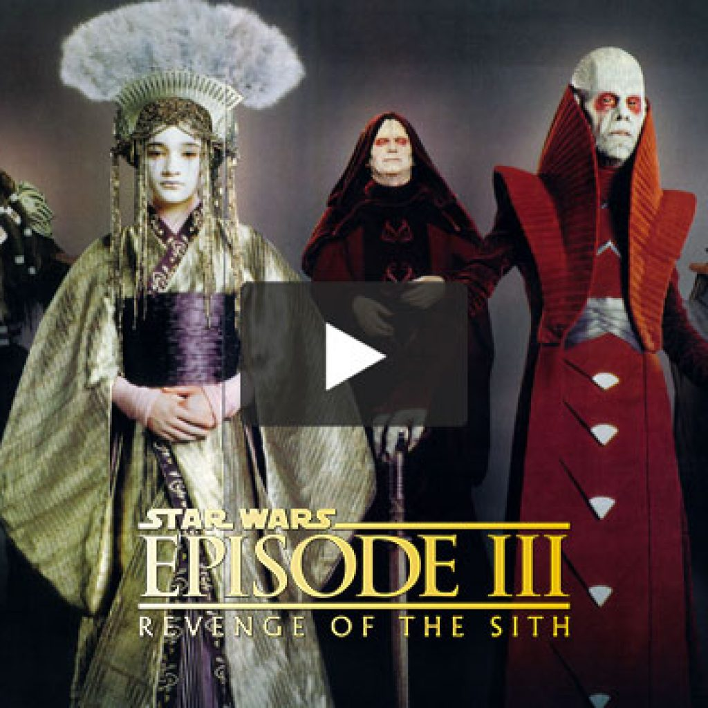 Star Wars Ep III: BTS 'Costumes'